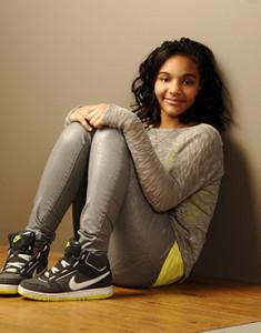 Modeling photo shoot young teenage girl