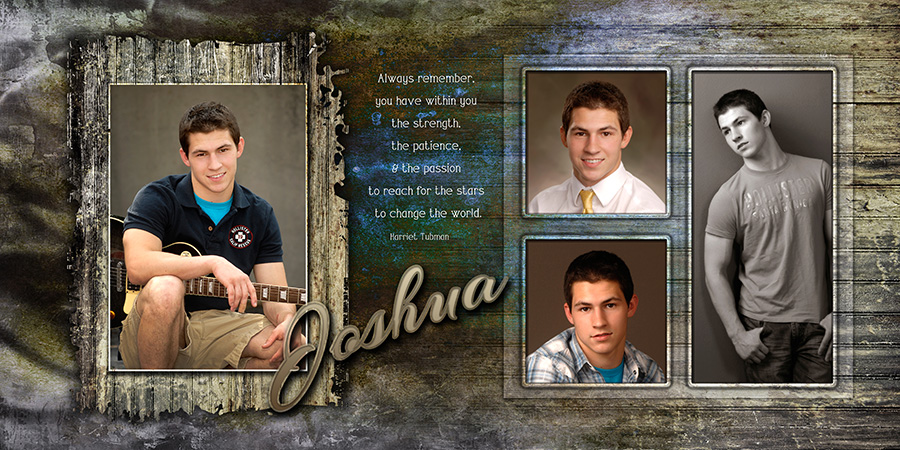 high school senior boy composite