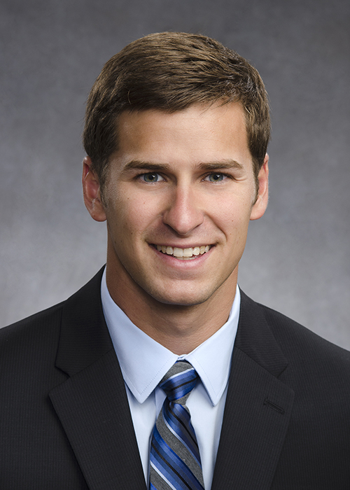 Business Executive Portrait of young man