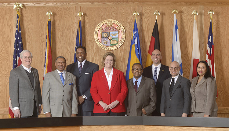 City of Dayton, Commissioners and staff