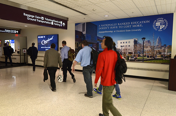 Cleveland airport for Clear Channel Airports