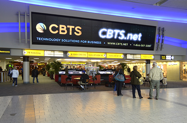 Columbus airport for Clear Channel Airports