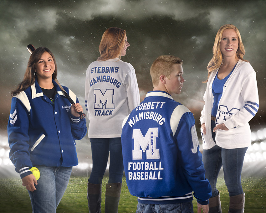 Miamisburg High School senior portraits by Dan Cleary of Cleary Creative Photography in Dayton Ohio